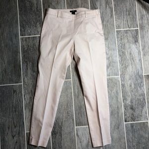 Pink casual work pants